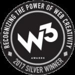 2017 Silver W3 Award