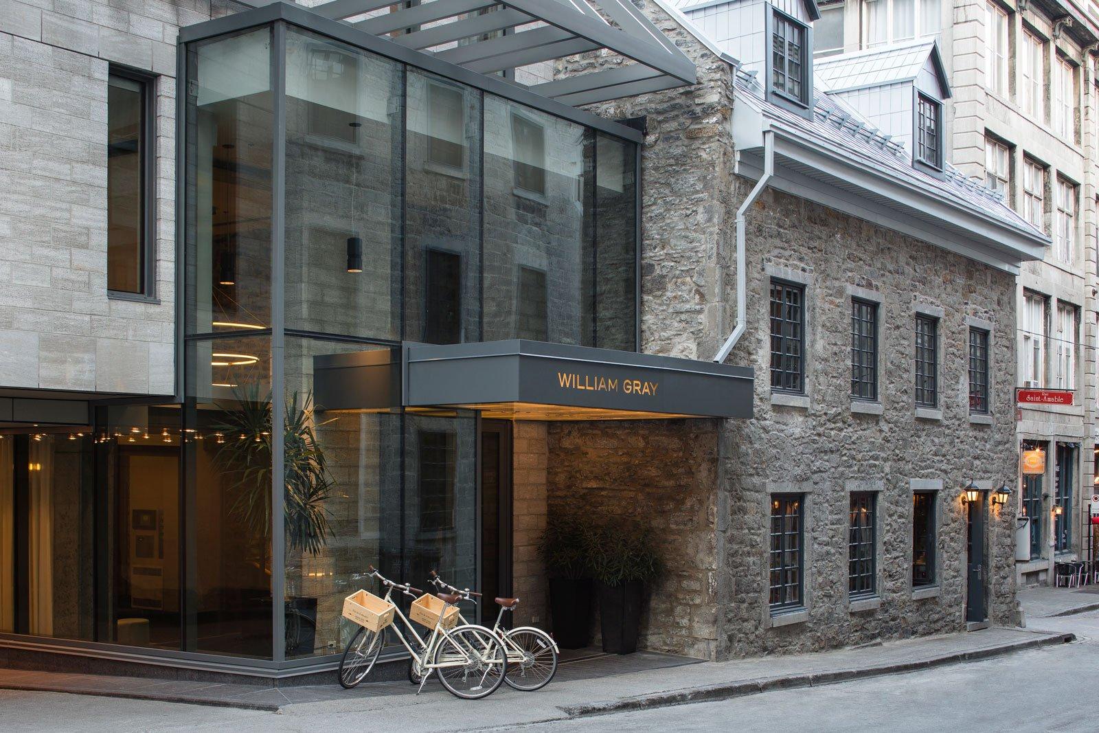 Facade extérieure de l'Hôtel William Gray
