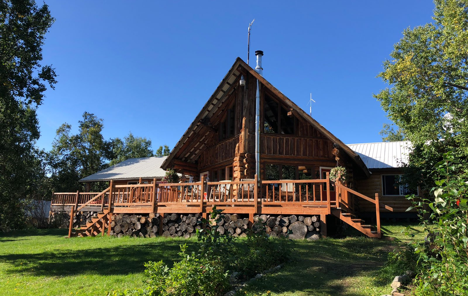 The main lodge at Within the Wild