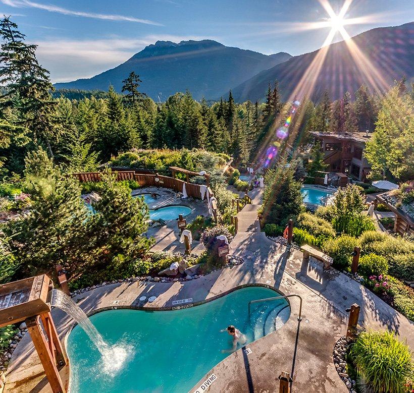 Scandinave Spa Whistler Baths