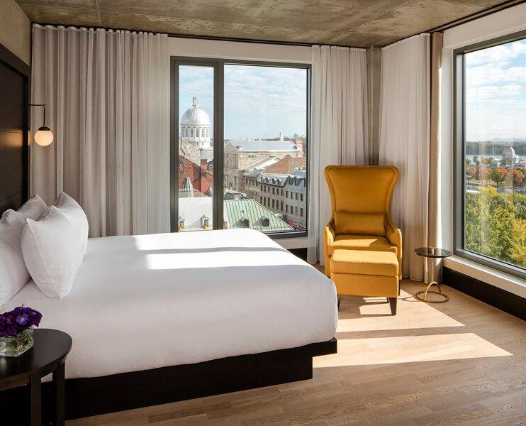 Suite Alcove de l'Hôtel William Gray